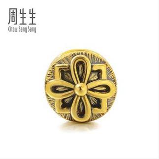 周生生黄金(足金)Charme XL串珠系列团结转运珠86850P定价