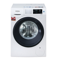 SIEMENS 西门子 洗衣机 WM12U4600W     9KG变频洗衣机    LED触摸屏