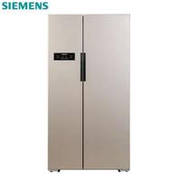 SIEMENS/西门子 BCD-610W(KA92NV03TI)双开家用对开门电冰箱无霜