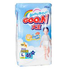 【超级生活馆】大王婴幼儿用短裤式纸尿裤男宝宝专用L46P(编码:509349)
