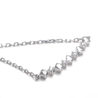 通灵   金750钻石手链