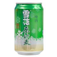 【天顺园店】雪花原汁麦啤酒(听装)330ml(编码:500401)