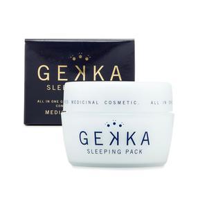 日本 GEKKA 免洗睡眠面膜 收缩毛孔美白保湿补水 80g