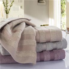 花果果 毛巾 墨竹毛巾 竹纤维贴面洗脸面巾 柔软全棉吸水毛巾