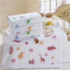 花果果 毛巾 奇异世界 纯棉卡通可爱儿童毛巾全棉吸水洗脸