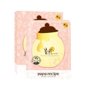 韩国 papa recipe 春雨玫瑰黄金蜂蜜面膜 5片/盒