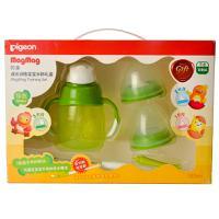【超级生活馆】贝亲-成长训练宝宝水杯礼盒(绿色)(编码:519551)