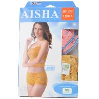 【天顺园店】爱莎5A390竹纤印花中高腰小平脚裤XL1*2(编码:545688)