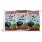 【超级生活馆】清风明月橄榄油海苔4.5g*3(编码:572956)
