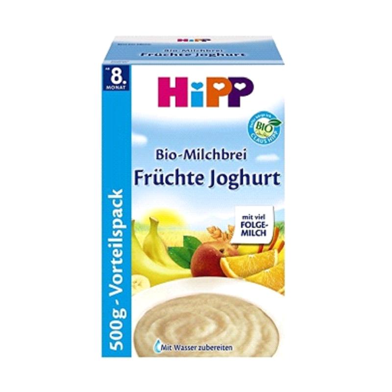 德国Hipp喜宝有机酸奶益生菌水果米粉 8个月以上 500g
