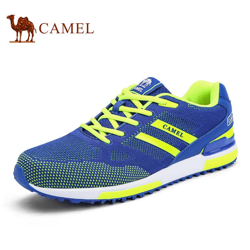 camel骆驼男鞋 2017新款时尚运动网布户外休闲跑步男鞋