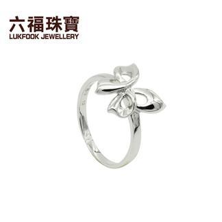 六福珠宝  6LP1043606  铂Pt990戒指  金重:4.537克   工费:74/克
