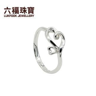 六福珠宝   6LP1041591  铂Pt990戒指  金重:3.322克   工费:129/克