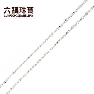 六福珠宝  06QP2009FUP 铂Pt990项链  金重:9.724克   工费:63/克