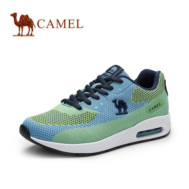 camel骆驼女鞋 时尚休闲 舒适运动风 网面鞋