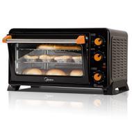 Midea/美的 MG25NF-AD二代多功能小电烤箱家用迷你烘焙蛋糕大容量