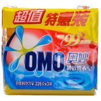 【天顺园店】奥妙99超效洗衣皂三块装226g*3(编码:363338)