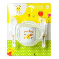 【天顺园店】小鸡卡迪五件套儿童餐具1*1(编码:343920)