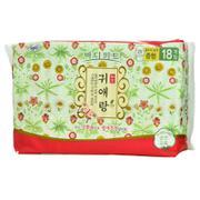 【超级生活馆】贵爱娘韩方中号卫生巾250mm18P(编码:544416)