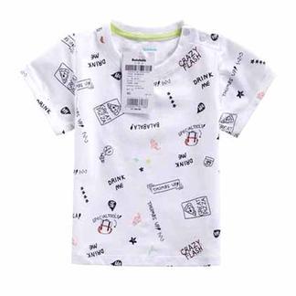 巴拉巴拉童装2016年新款夏装男幼童百搭短袖T恤21172161111【六一欢乐颂】