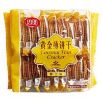 思朗黄金薄饼干の椰子味285g韧性薄脆饼干早餐配牛奶食品/活动促销
