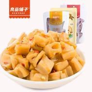 2袋入の良品铺子卤藕藕片莲藕零食小吃洪湖特产熟食168g约8小包五香香辣味