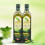 亨洛德庄园橄榄油750ml 2瓶装