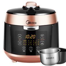 Midea/美的 MY-QS50B5电压力锅智能双胆正品家用电高压锅饭煲