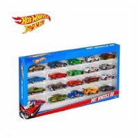 芭比玩具  风火轮火辣小跑车二十辆装 合金玩具车模型H7045【五折特惠】