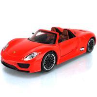 彩珀 1:32保时捷918spyder敞篷跑车 仿真回力儿童汽车模型玩具88323
