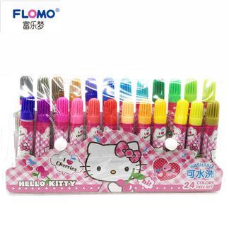 富乐梦  PS-HK0065A-2  HelloKitty24色水洗彩色笔