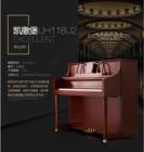 珠江恺撒堡UH118U2高端欧美系列 古典风实木雕花专业练习演奏立式钢琴 武汉包邮