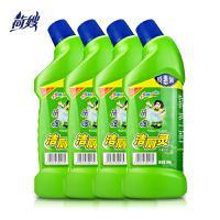 荷嫂 洁厕灵马桶清洁剂包邮900g*4瓶卫生间厕所清洗剂除垢去味
