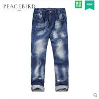 太平鸟男装 风尚系列 新款 牛仔裤B2HA62579