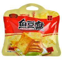 【华师店】瓯珍香辣味鱼豆腐208g(条码:6933495620085)