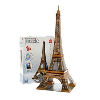 睿思 3D建筑拼图法国巴黎埃菲尔铁塔 RAVC125562