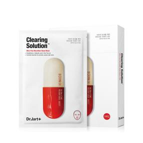 韩国  Dr.Jart+/蒂佳婷 药丸面膜 【红色--舒缓镇定肌肤、美白】   5片/盒