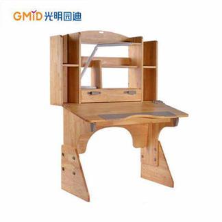 光明园迪T100实木 100公分三层书架 可调节 环保 儿童学习桌