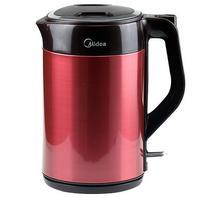 美的 QJ1503a 304不锈钢电热水壶无锰保温双层无缝一体开水壶