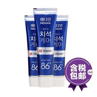 韩国 爱茉莉麦迪安86%美白牙膏 120g *3 【3支装】