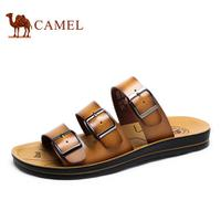 camel骆驼男鞋 凉鞋沙滩鞋 夏季休闲男士舒适凉拖鞋
