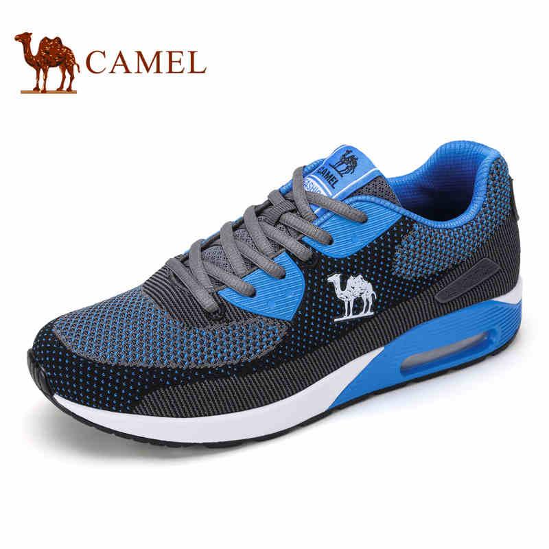 camel骆驼男鞋 2016秋季新款 透气网布鞋户外运动休闲越野男士跑鞋