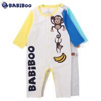 BABiBOO  婴儿纯棉春秋连体衣服外出服  BOBL601546