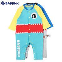 BABiBOO  2016春秋婴儿纯棉长袖连体衣  BOBL601566