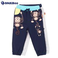 BABiBOO  2016春装新款韩版男女童休闲运动裤  BOPL601560