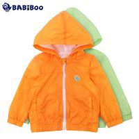 BABiBOO  2016新款春装1-3岁男女童韩版防晒风衣外套  BOLJ601770