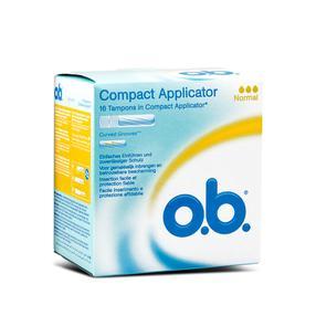【德国直邮】OB 导管置入卫生巾  导管式卫生棉条  内置易推导管式卫生棉条(大容量)