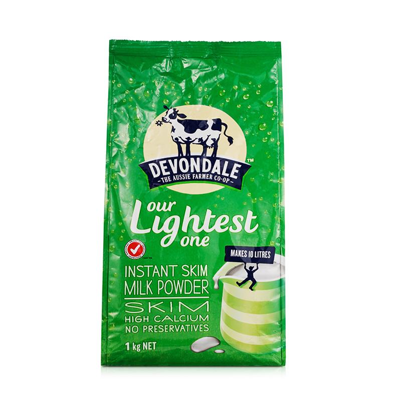 【保税仓发货】澳大利亚 Devondale -德运  脱脂奶粉 1kg