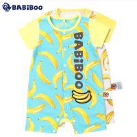 BABiBOO  2016夏装新款婴儿连身衣  BOBT601645