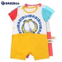 BABiBOO  2016夏季新生儿连体衣爬服  GDBT601671